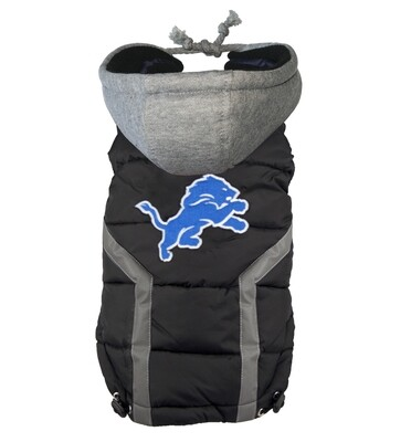NFL Puffer Vest - Detroit Lions