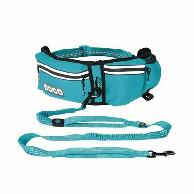 Jogging Belt with Bungee Leash