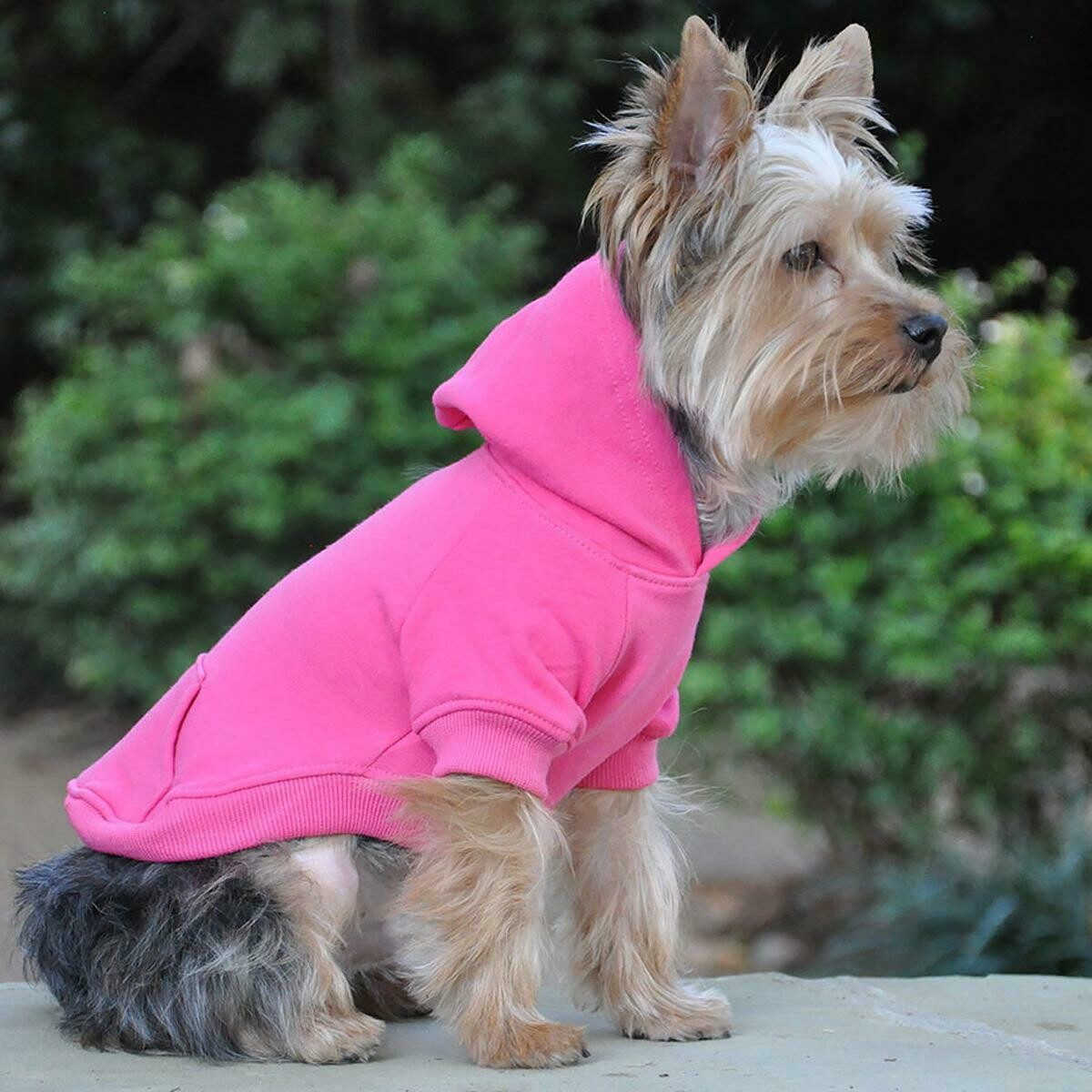 Flex-Fit Dog Hoodie (Pink)