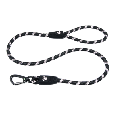 5ft Reflective Rope Leash - Click & Lock Snap