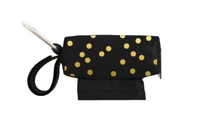 Black w/Gold Dots Duffel