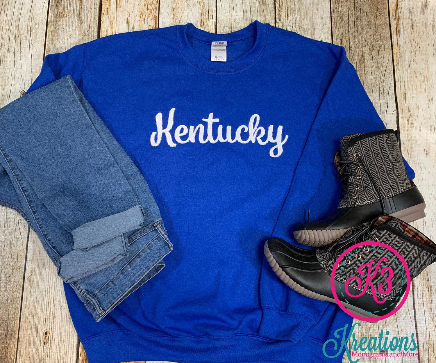 Kentucky Script Crewneck Sweatshirt