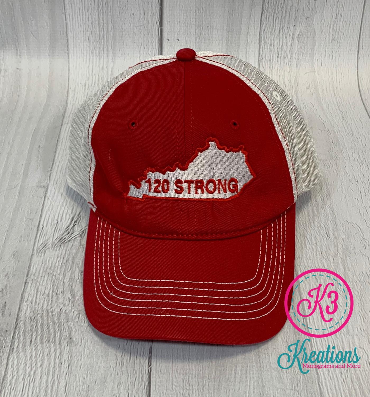 120 Strong Trucker Hat