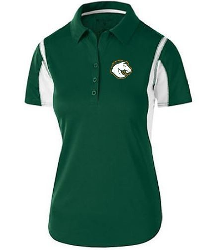 Ladies Integrate Polo with Douglass Logo (FDGS)