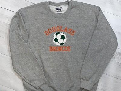 Douglass Soccer Crewneck Sweatshirt (FDGS)