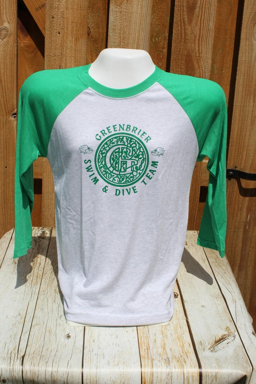Next Level Baseball T-shirt - Choice of Greenbrier Logo