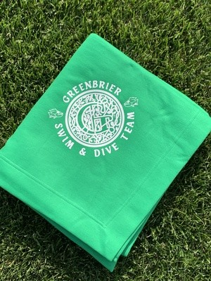 Stadium Blanket with choice of Greenbrier Logo