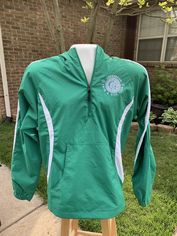 Sport-Tek Anorak Jacket with Greenbrier Logo