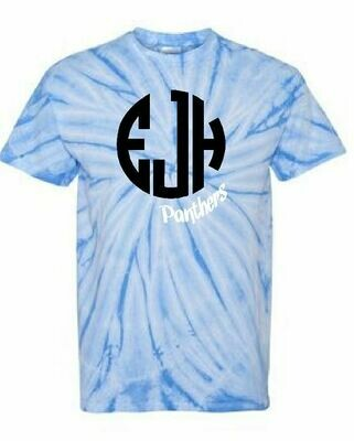 Tie Dye Short Sleeve T-shirt - EJH Panthers