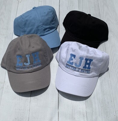 EJH Embroidered Low Profile Ball Cap
