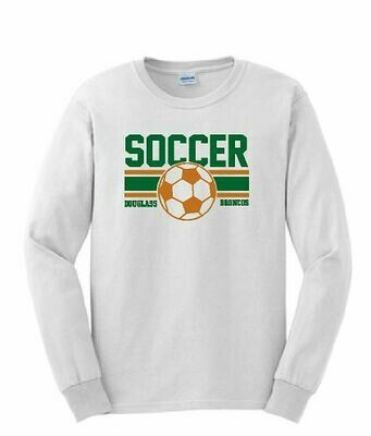 Gildan Long Sleeve T-Shirt - FDHS Soccer (FDGS)