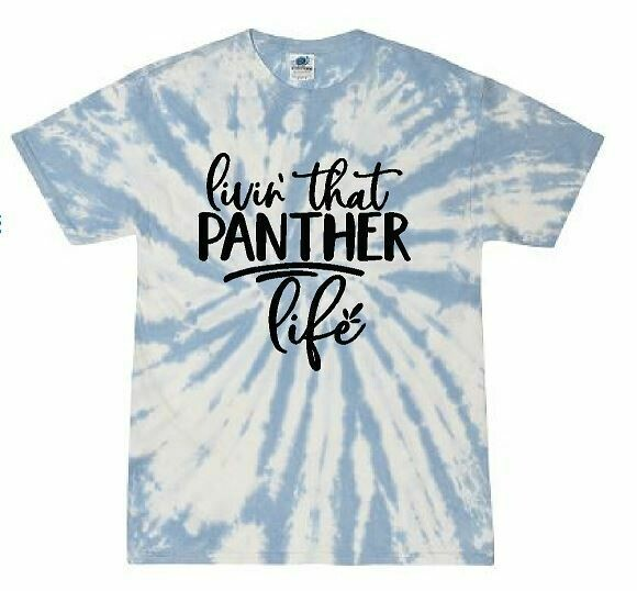 Panther Life Tie Dye T-shirt