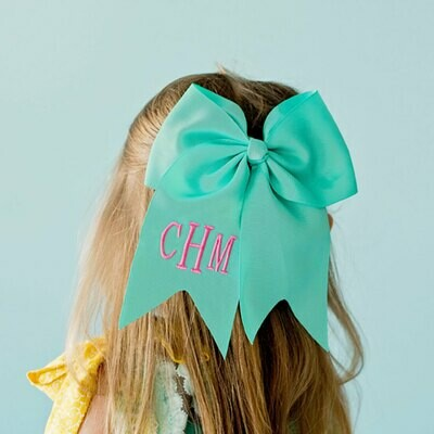 Mint Hair Bow