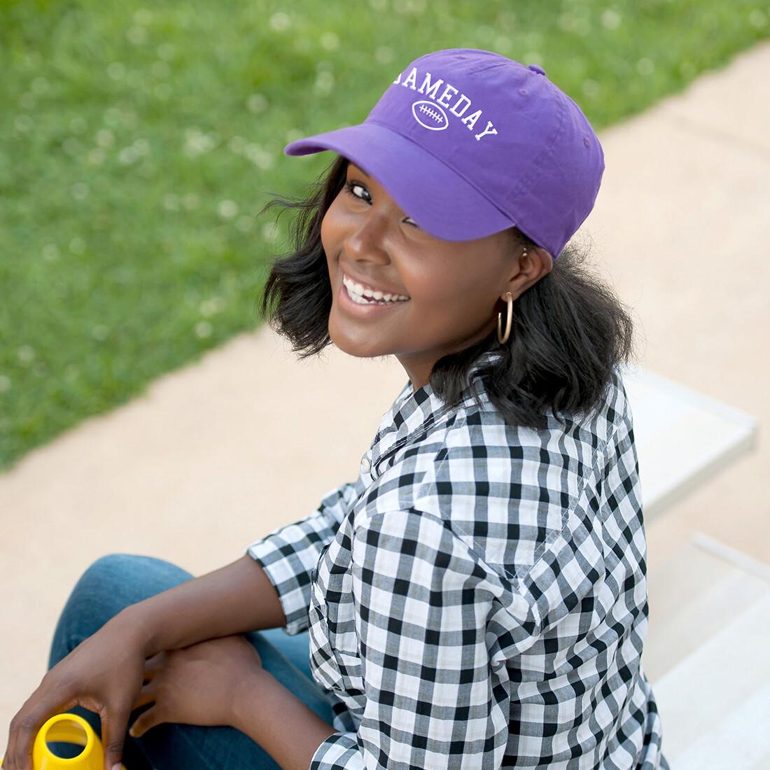 Purple Gameday Cap