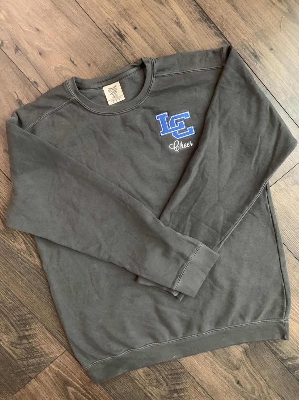 Unisex Comfort Color Crewneck Sweatshirt - Left Chest Design