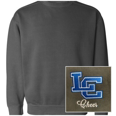 Unisex Comfort Color Crewneck Sweatshirt - Front Chest Design
