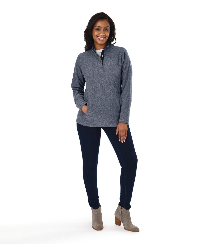 Ladies Bayview Fleece Pullover