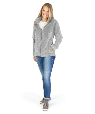 Ladies Newport Fleece Full Zip Jacket with choice of monogram or logo (FDD)