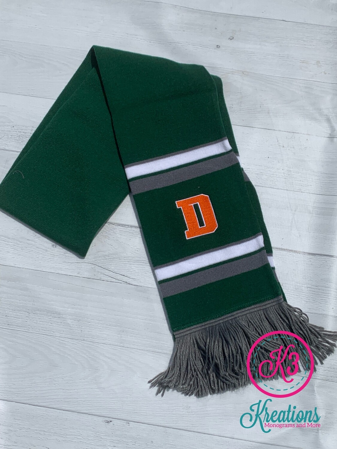 Comeback Scarf with choice of logo (FDGS)