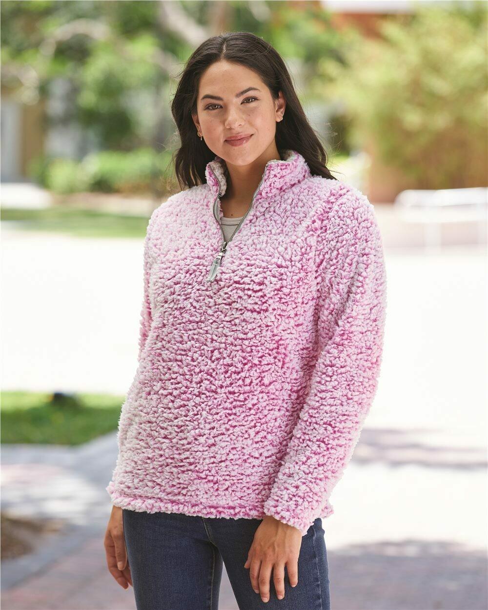 Ladies Epic Sherpa Quarter-Zip Pullover