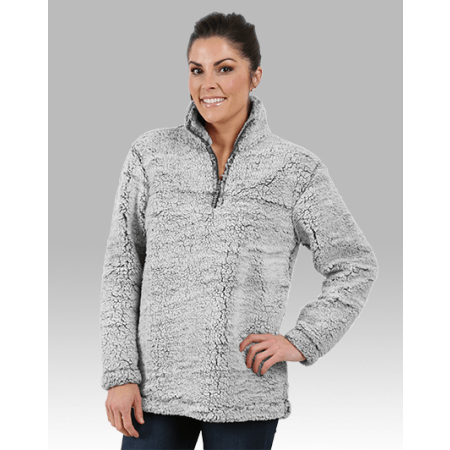 Sherpa 1/4 Zip Pullover (Youth & Adult) with choice of logo or monogram