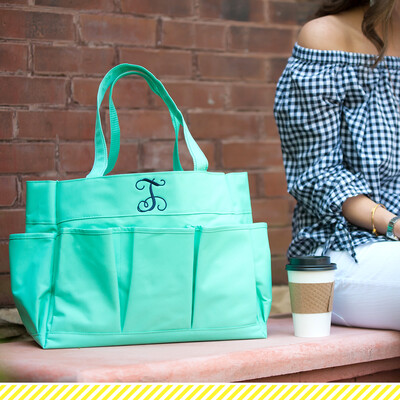 Mint Carry All Tote Bag