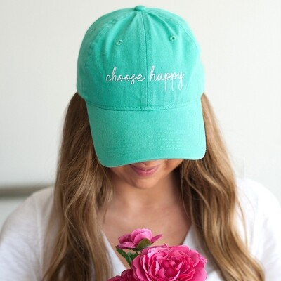 Mint Choose Happy Hat