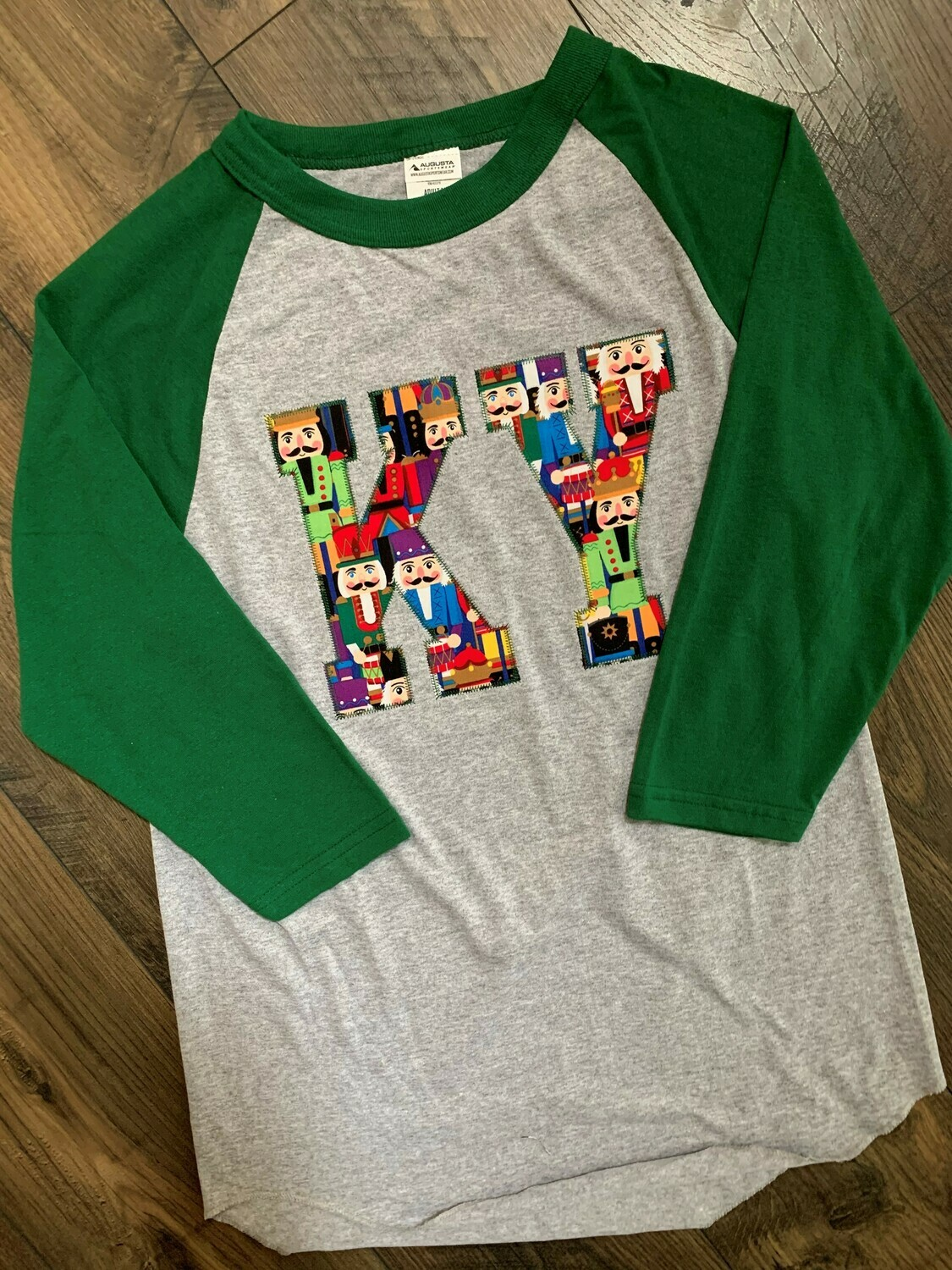 Youth KY Nutcracker Raglan Baseball T-Shirt