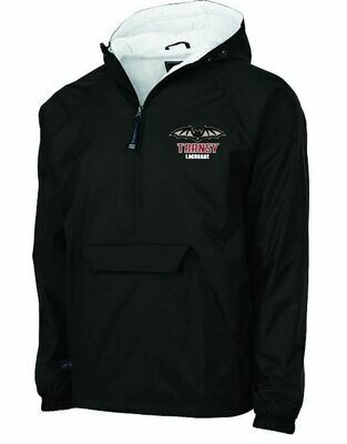 Charles River Classic 1/2 Zip Pullover with choice of Transy Lacrosse logo or monogram