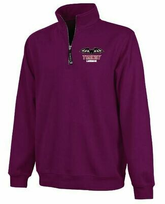 Charles River 1/4 Zip Fleece Pullover -Choice of Transy Lacrosse Logo