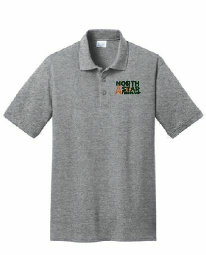 Port & Company Core Blend Polo with choice of left chest design