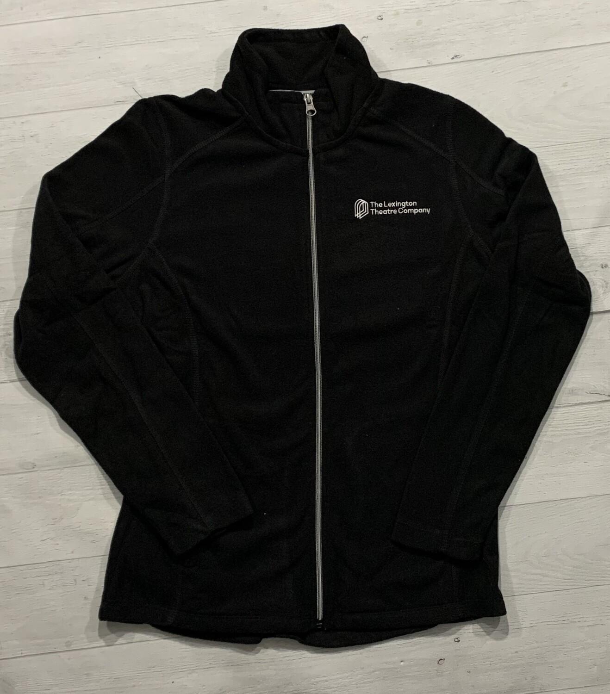 Ladies Port Authority® Black Microfleece Jacket (LTC)