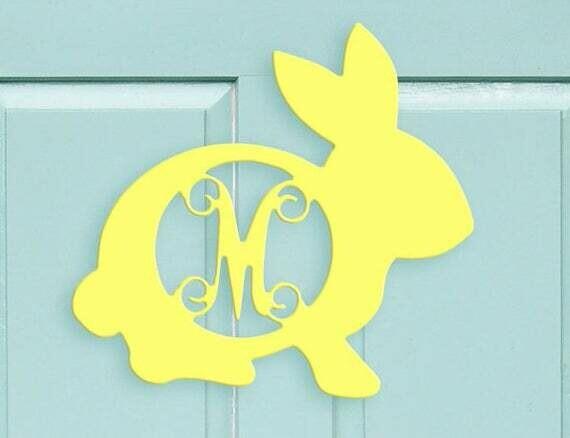 Bunny Wood Monogram