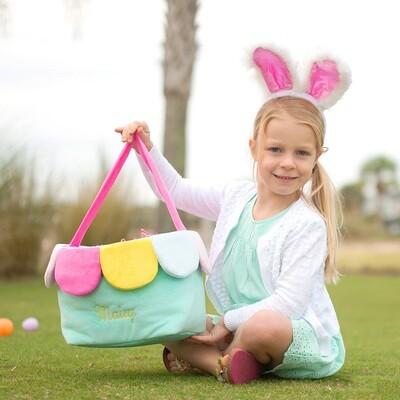 Personalized Flower Easter Bucket