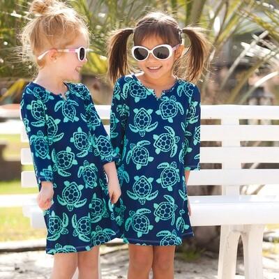 Totally Turtle Girls' Tunic