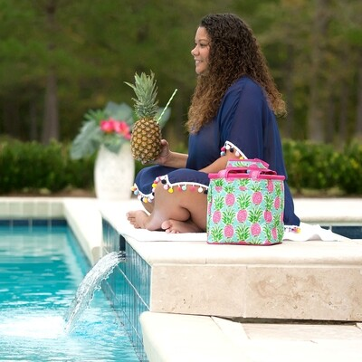 Sweet Pineapple Cooler Tote
