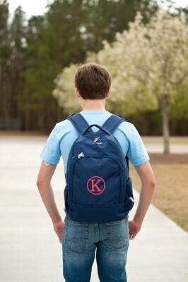 Navy Backpack