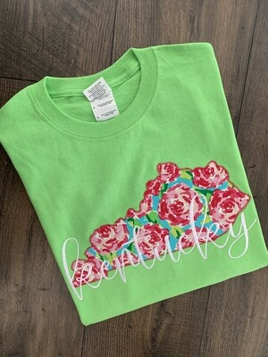 Kentucky State Rosey Lime Short Sleeve Tee