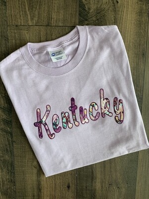 Kentucky Lavender Short Sleeve Tee