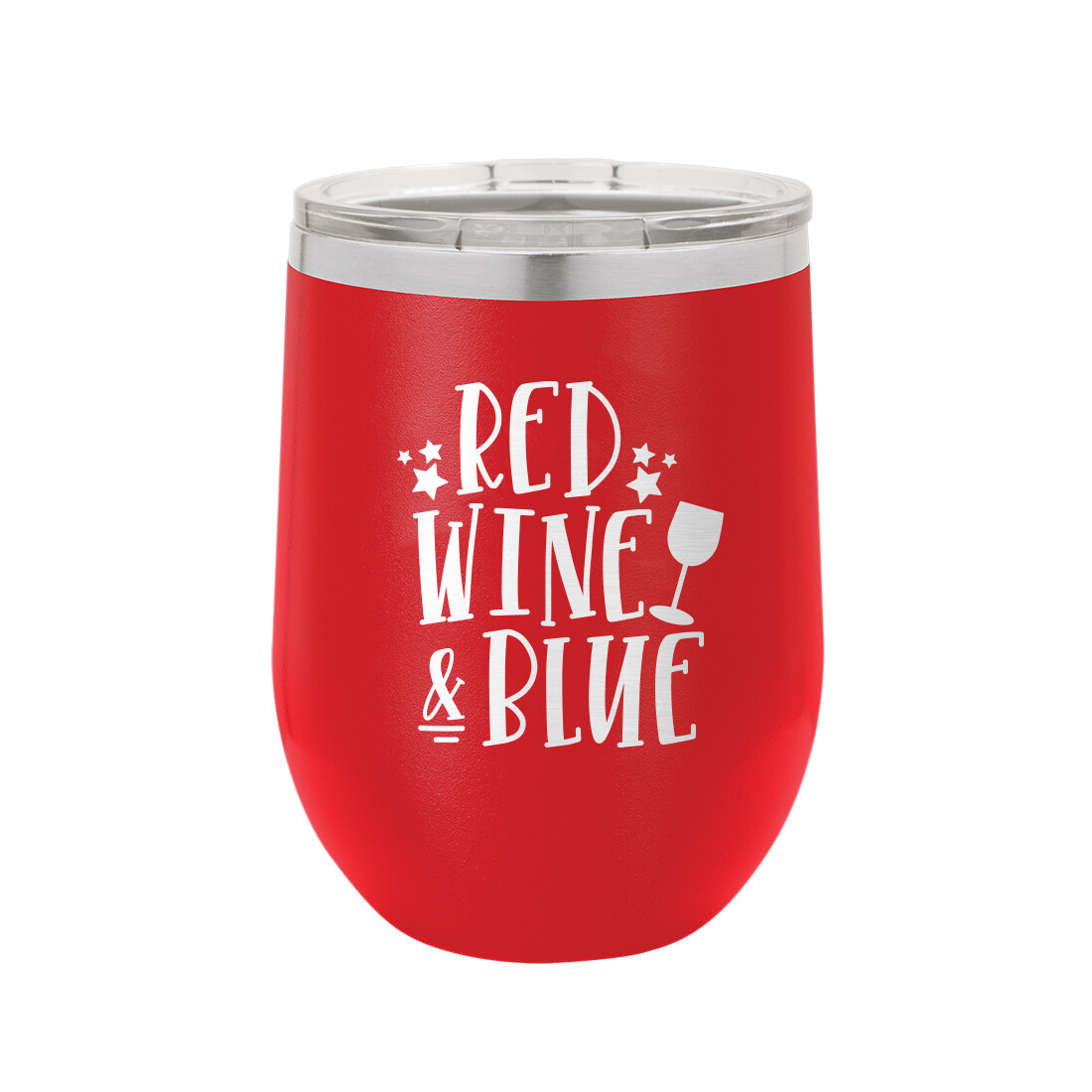 Red, Wine & Blue Tumbler