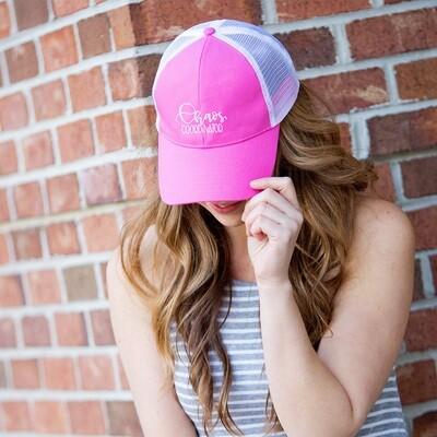 Chaos Coordinator Hot Pink Trucker Hat