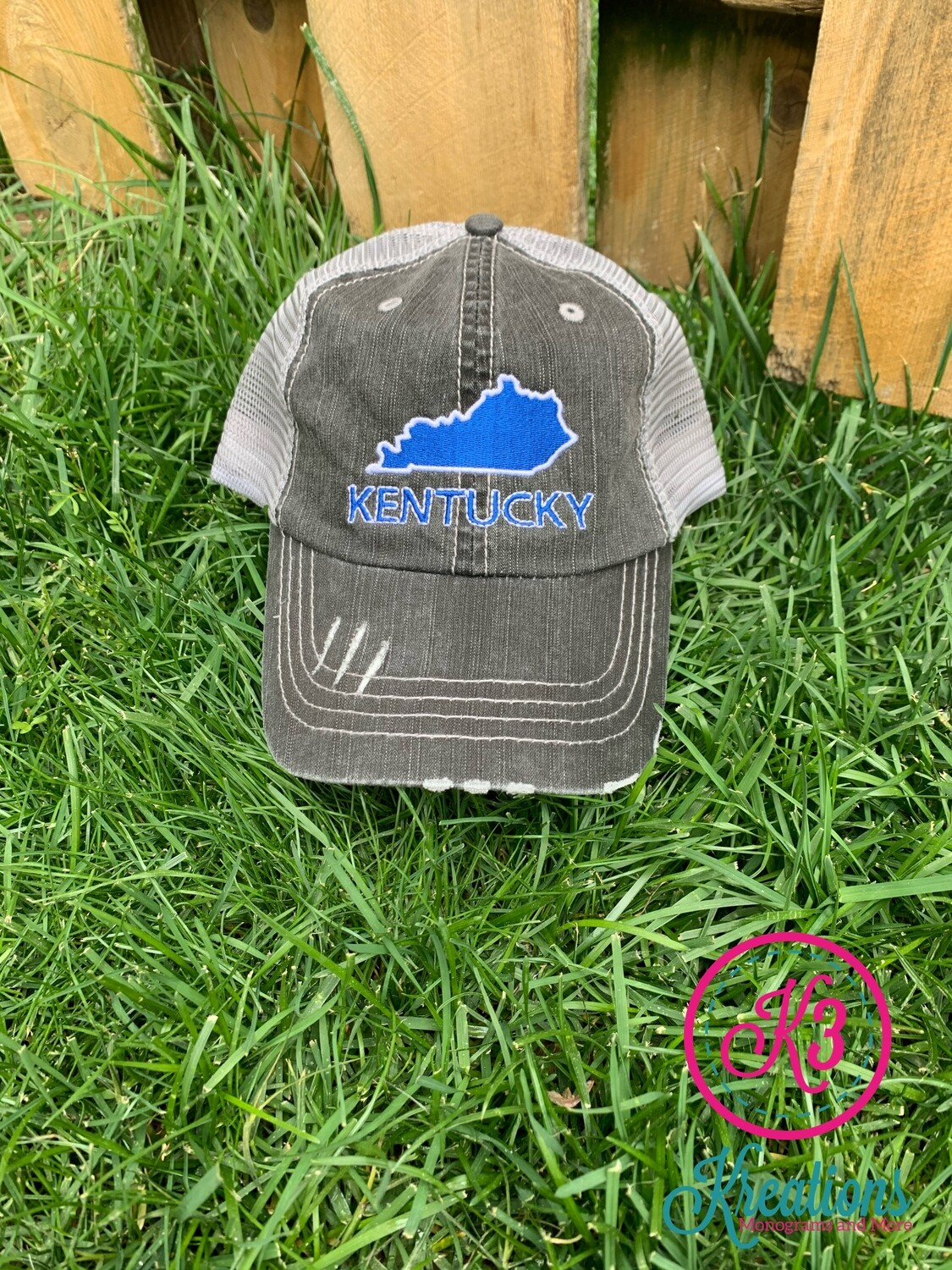 Kentucky State Trucker Cap