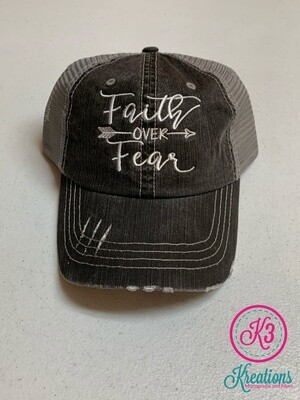 Faith Over Fear Trucker Cap
