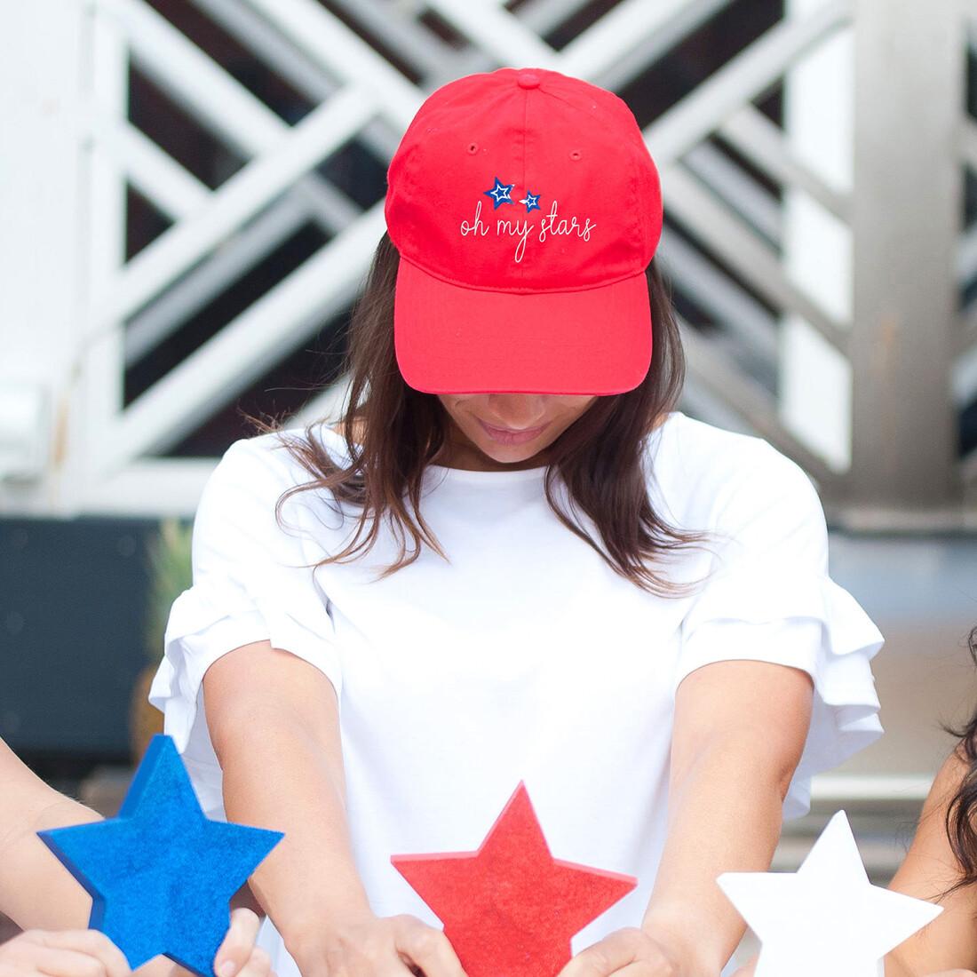 Oh My Stars Red Cap
