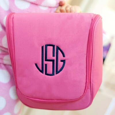 Hot Pink Hanging Travel Case