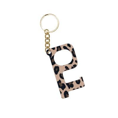 Leopard Hands-Free Keychain