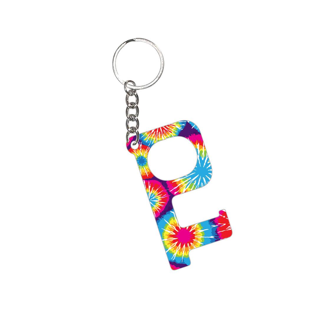 Tie Dye Hands-Free Keychain