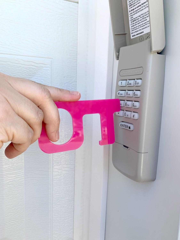 Pink Hands-Free Keychain