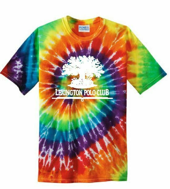 Adult Tie Dye Short Sleeve T-Shirt -  (LPC)