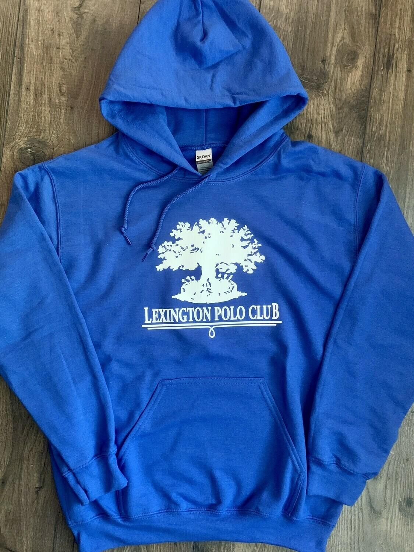 Adult Gildan Heavy Blend Hooded Sweatshirt -Front Chest (LPC)